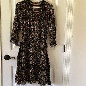 Dresses & Skirts - Boho floral midi dress